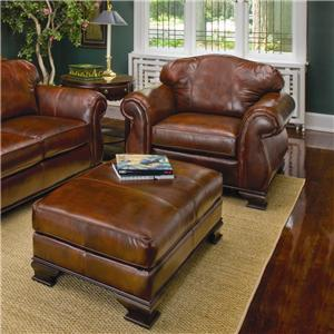 Smith Brothers 336 Chair and Ottoman