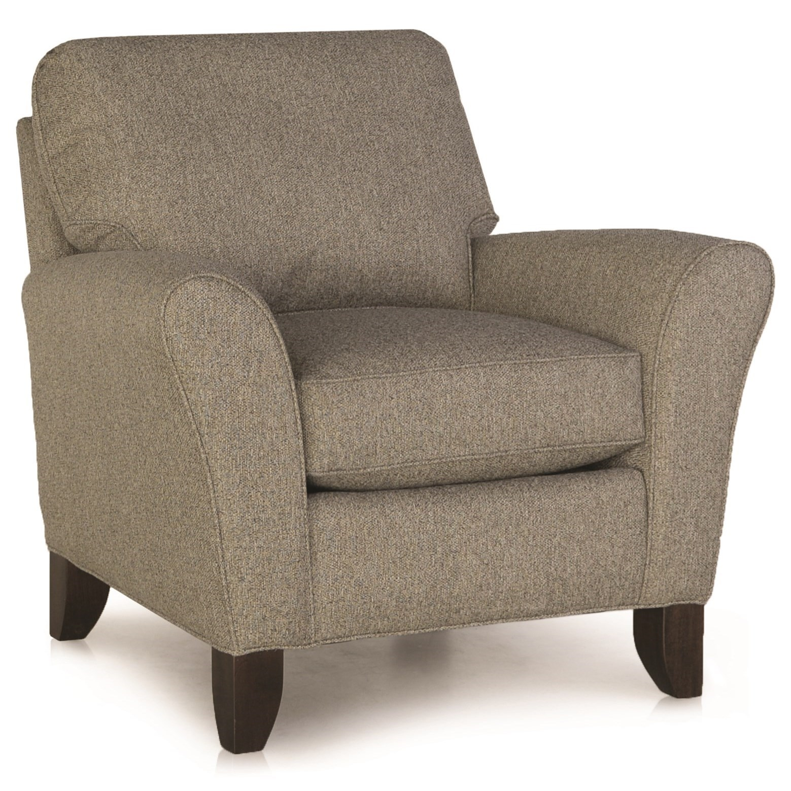 344 Upholstered Chair by Smith Brothers at Pilgrim Furniture City
