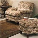 Smith Brothers 346 Chair and Ottoman Set - Item Number: 346 C+O
