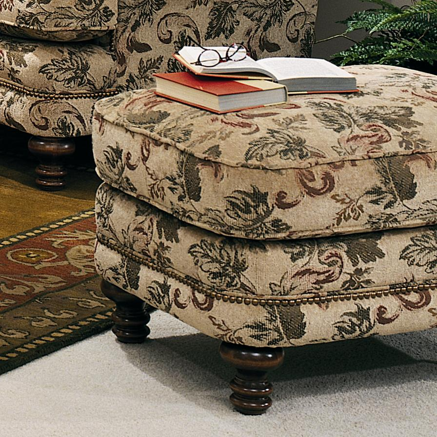 346 Ottoman by Smith Brothers at Mueller Furniture