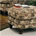Smith Brothers 346 Ottoman - Item Number: 346-O-F