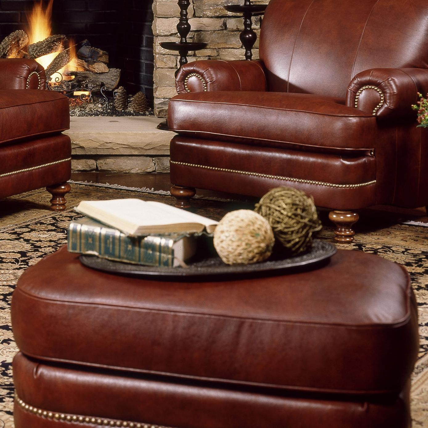 346 Ottoman by Smith Brothers at Turk Furniture