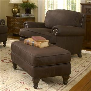 Smith Brothers 358 Chair and Ottoman