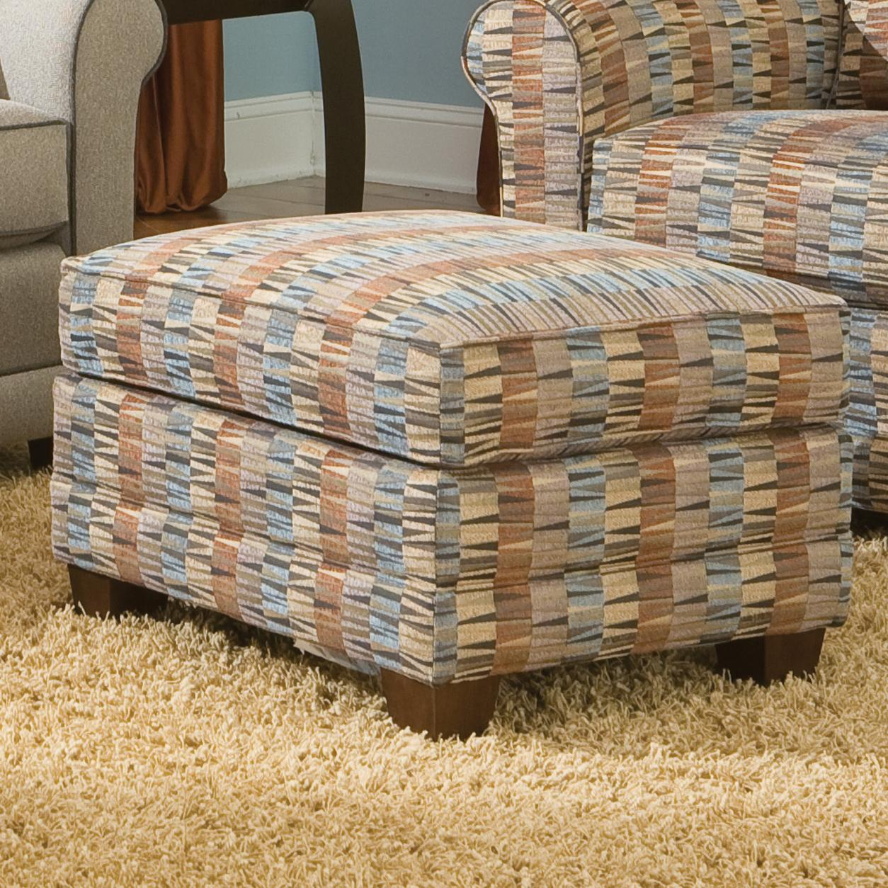 366 Ottoman by Smith Brothers at Story & Lee Furniture