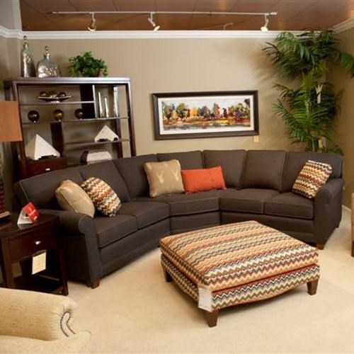 366 3-pc Sectional by Smith Brothers at Saugerties Furniture Mart