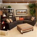 Peter Lorentz 366 3-pc Sectional - Item Number: 366-24+53+25