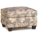 Smith Brothers 366 Ottoman - Item Number: 366-40-Gray Floral