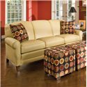 Smith Brothers 374 Stationary Sofa - Item Number: 374 S - L