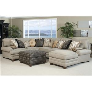 Peter Lorentz 375 Traditional Styled Sectional Sofa