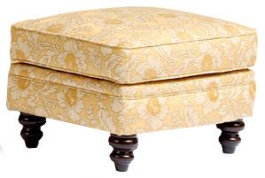 Smith Brothers 383 Customizable Upholstered Ottoman