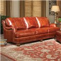 Peter Lorentz 386 Traditional Sofa with Throw Pillows
