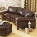 Smith Brothers 393 Conversation Sofa - Item Number: 393-12 L