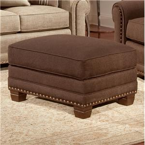Smith Brothers 393 Traditional Ottoman