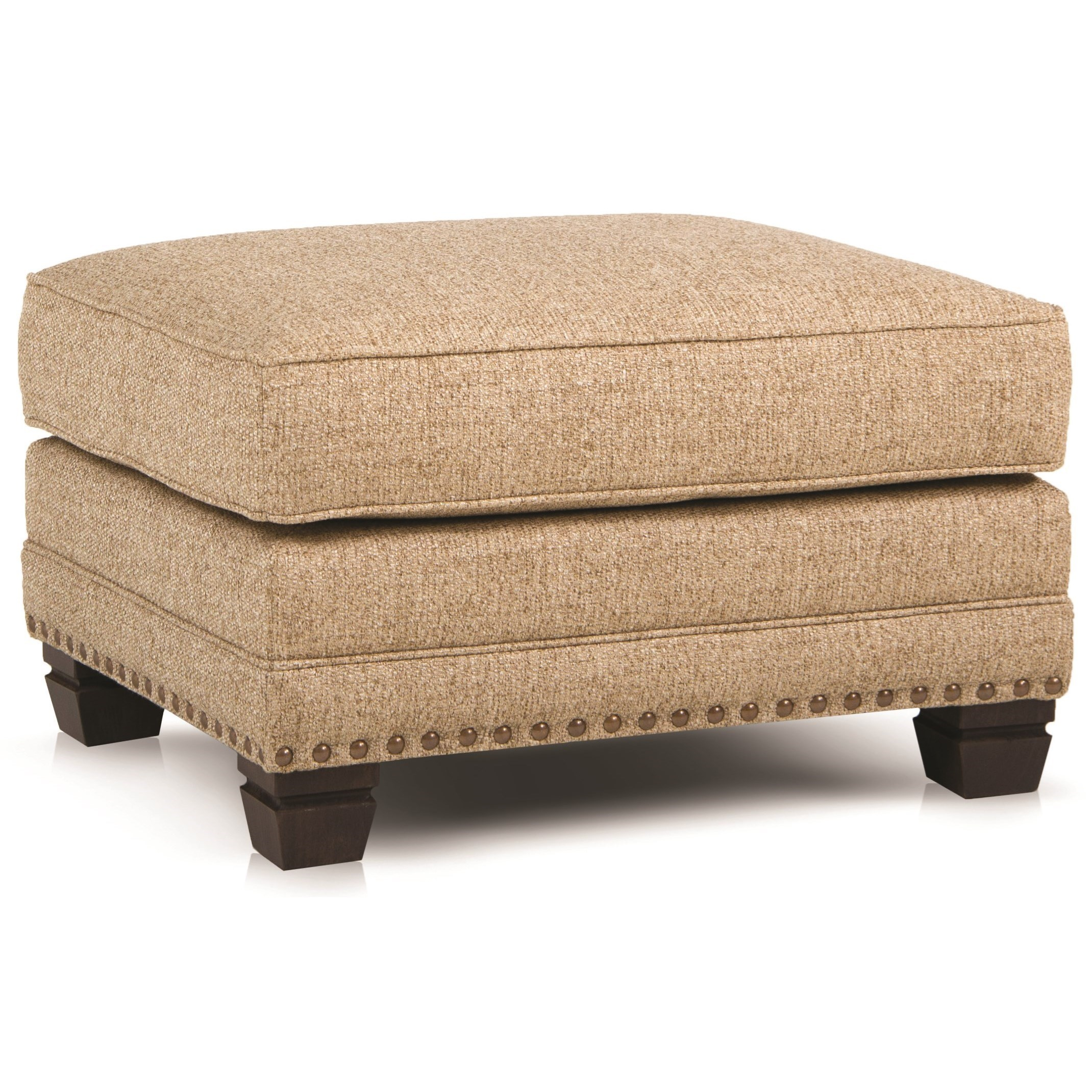 393 Traditional Ottoman by Smith Brothers at Miller Home