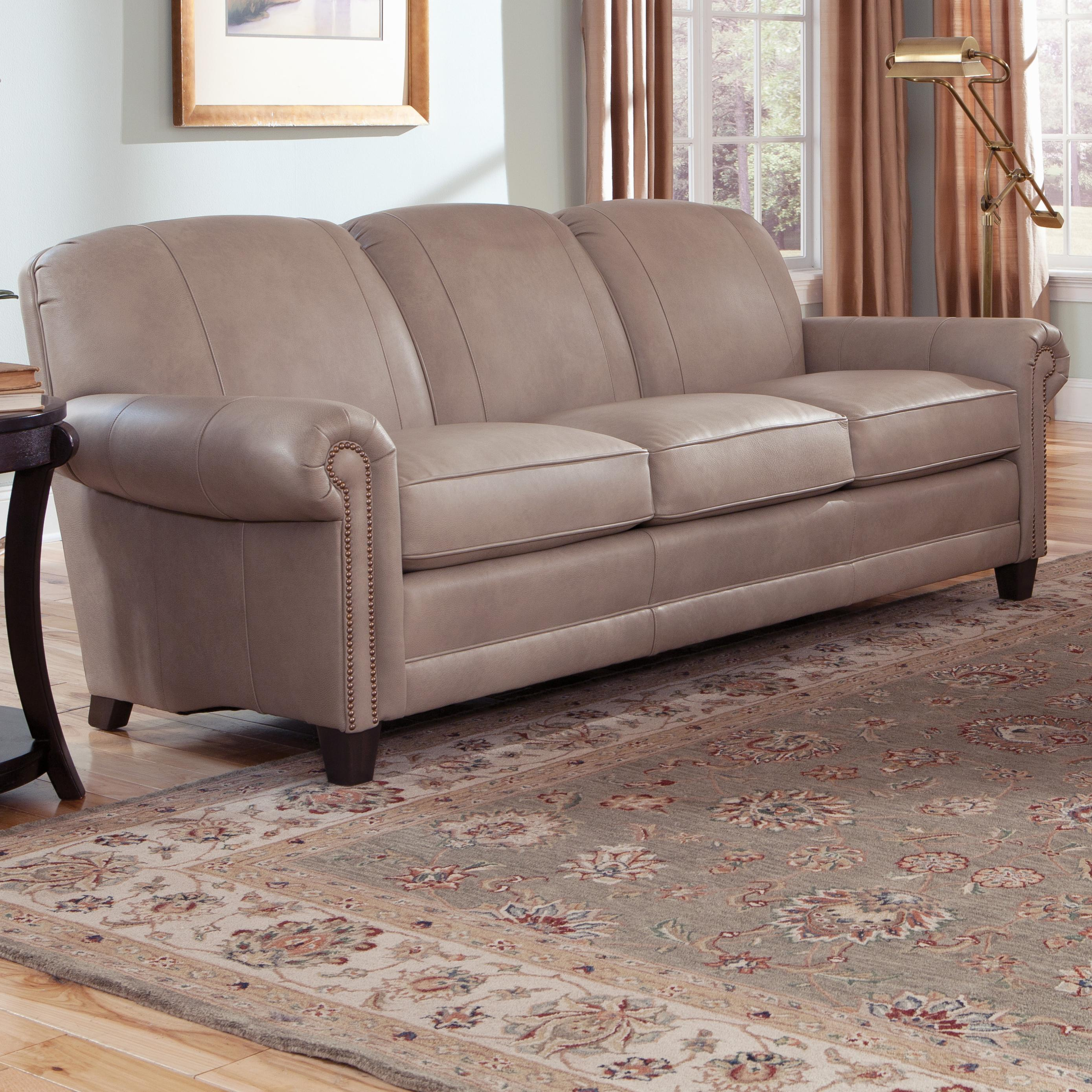 397 Stationary Sofa by Smith Brothers at Gill Brothers Furniture