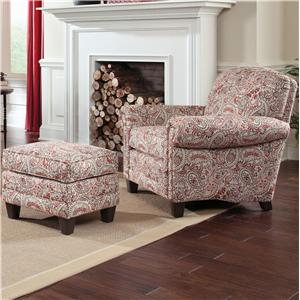 Smith Brothers 397 Chair and Ottman