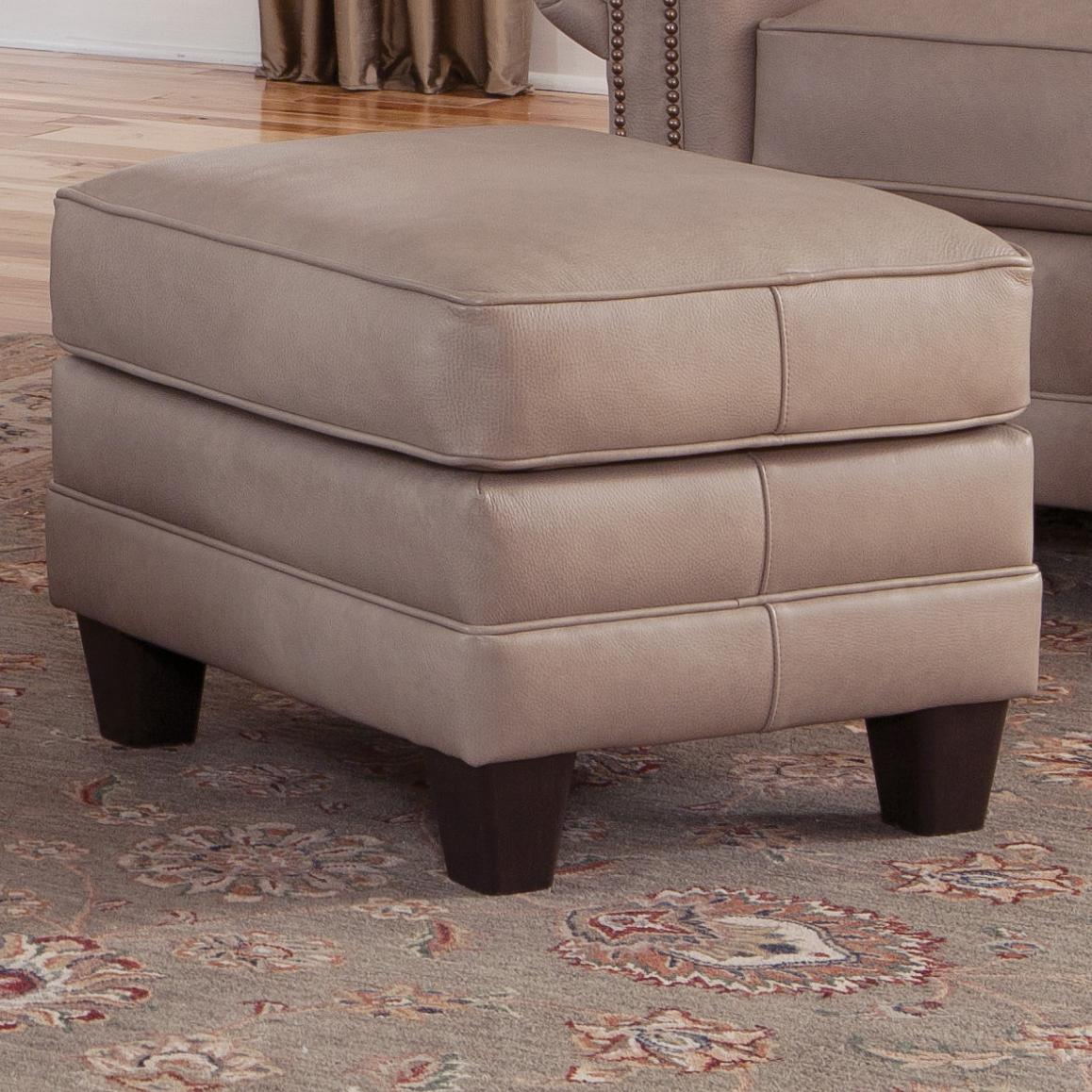 397 Upholstered Ottoman by Smith Brothers at Westrich Furniture & Appliances