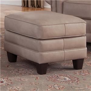 Smith Brothers 397 Upholstered Ottoman