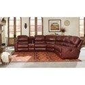 Peter Lorentz 413 Motorized Reclining Sectional Sofa - Item Number: 413-66+71+2x68+53+67-4511