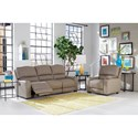 Smith Brothers 415 Reclining Living Room Group - Item Number: 415 Reclining Living Room Group 1