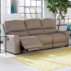 Smith Brothers 415 Motorized Reclining Sectional Sofa