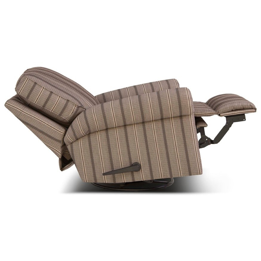 Smith Brothers 416 Traditional Swivel Glider Reclining