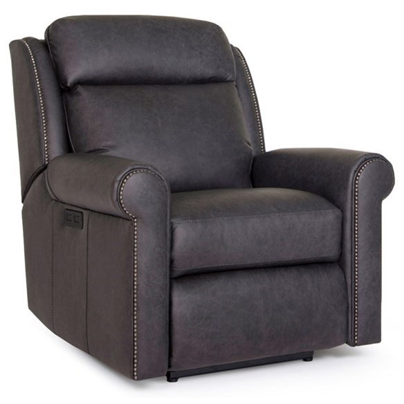 422 Power Recliner by Smith Brothers at Gill Brothers Furniture