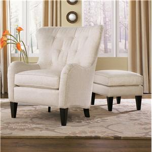 Peter Lorentz 502 Style Group Chair and Ottoman