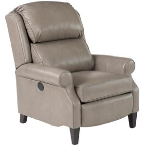 Smith Brothers 503L Traditional B/T Pressback Reclining Chair