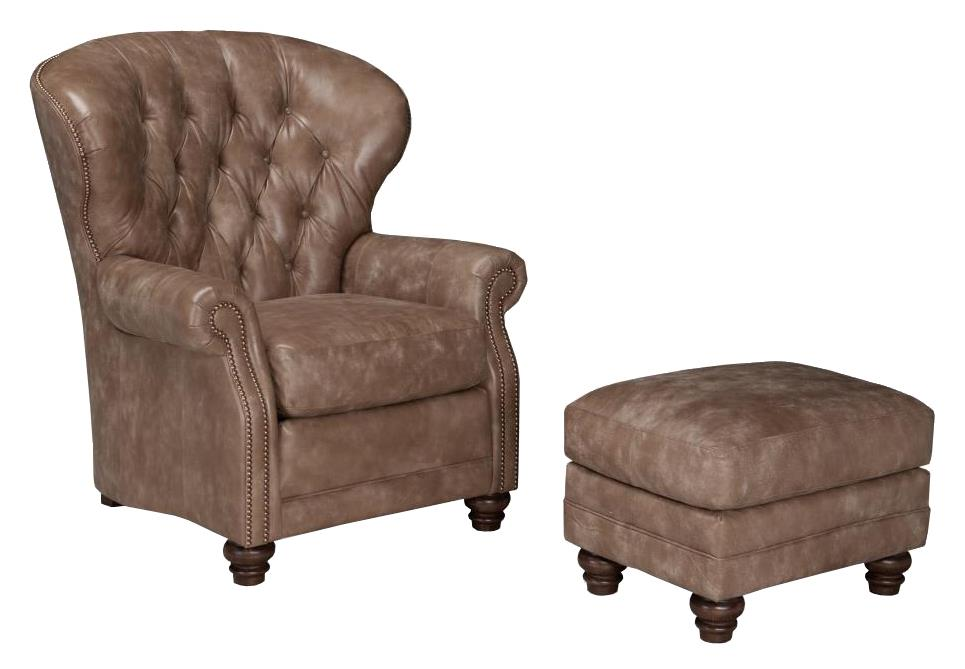 522 Chair and Ottoman Set by Smith Brothers at Sprintz Furniture