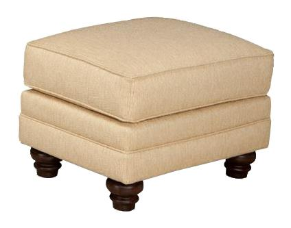 522 Ottoman by Smith Brothers at Mueller Furniture