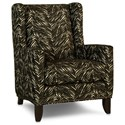 Smith Brothers 538 Wing Back Chair - Item Number: 538-30-396418