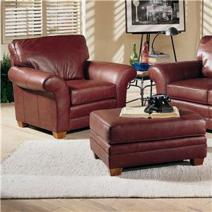 Smith Brothers 658 Chair and Ottoman