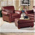 Smith Brothers 658 Chair and Ottoman - Item Number: 658-CO