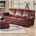 Smith Brothers 658 Stationary Sofa - Item Number: 658-S
