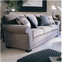 Smith Brothers 658 Stationary Sofa - Item Number: 658-S1