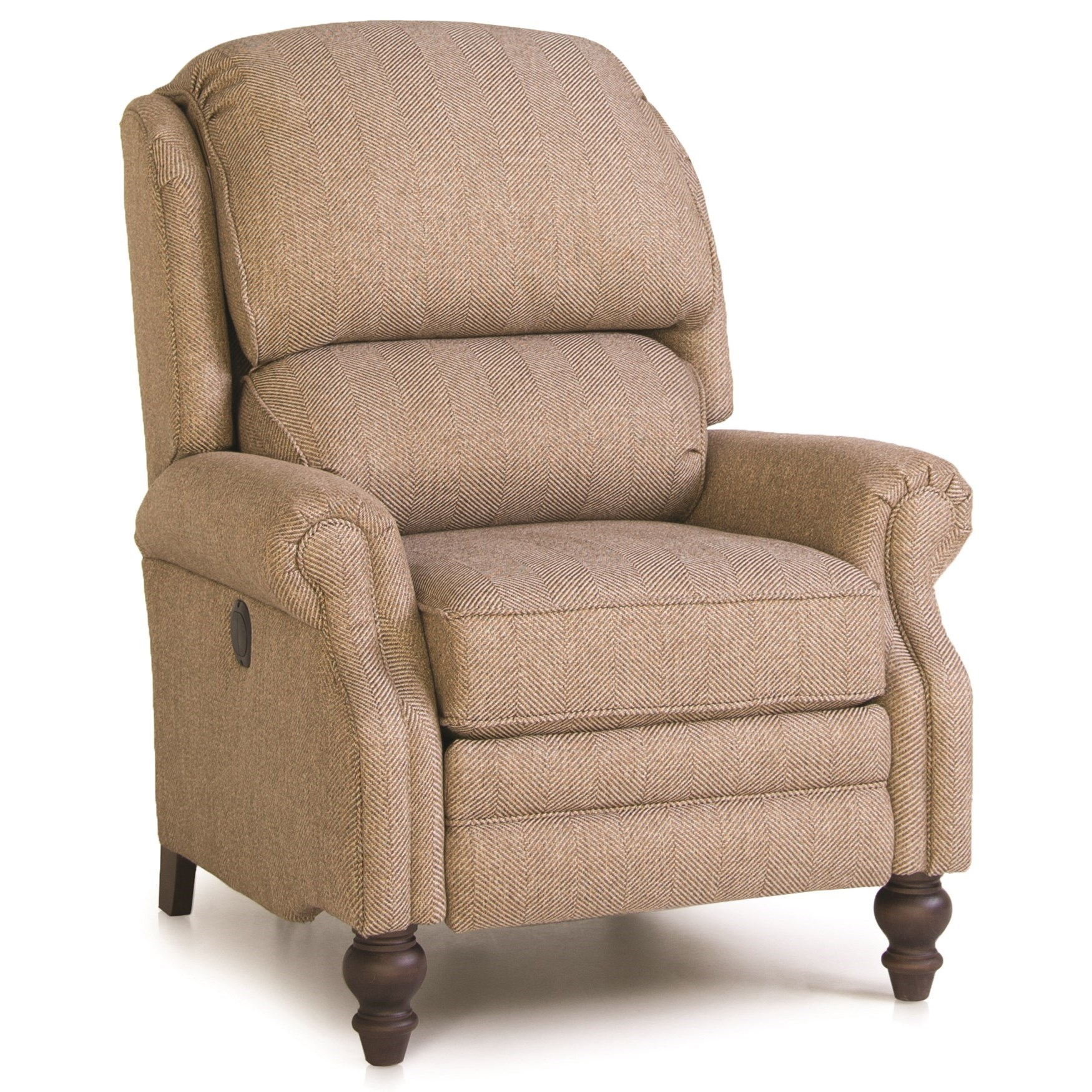 705 Pressback Reclining Chair by Smith Brothers at Westrich Furniture & Appliances