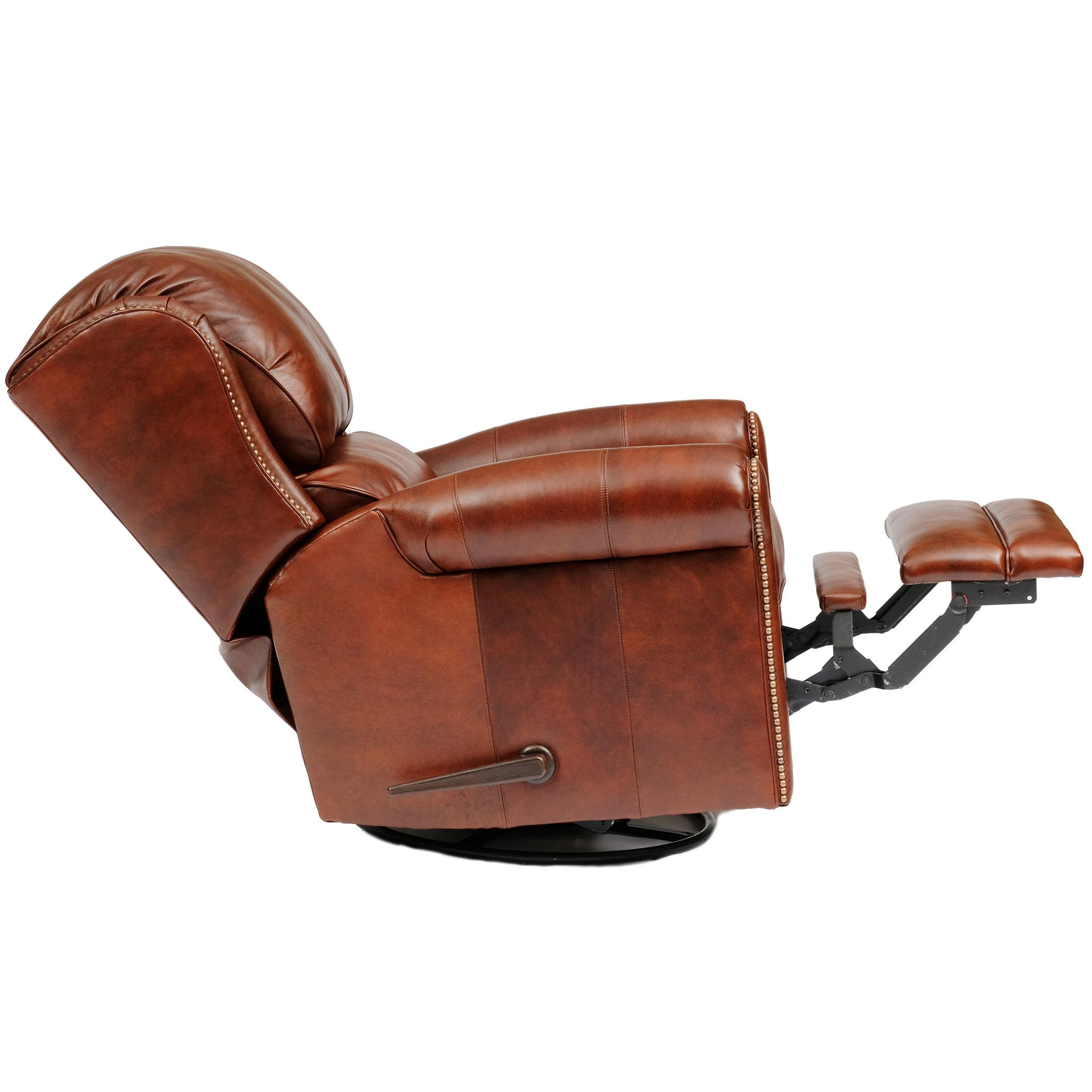 720l Casual Leather Motorized Reclining Chair By Smith Brothers Wolf Furniture