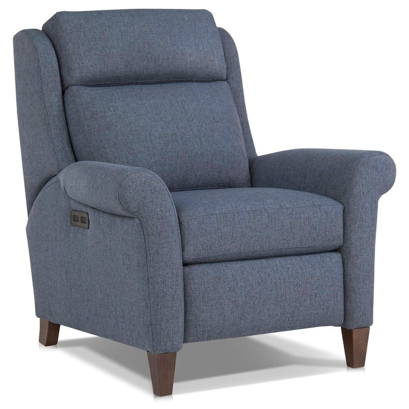 729 Motorized Recliner Chair by Smith Brothers at Pilgrim Furniture City