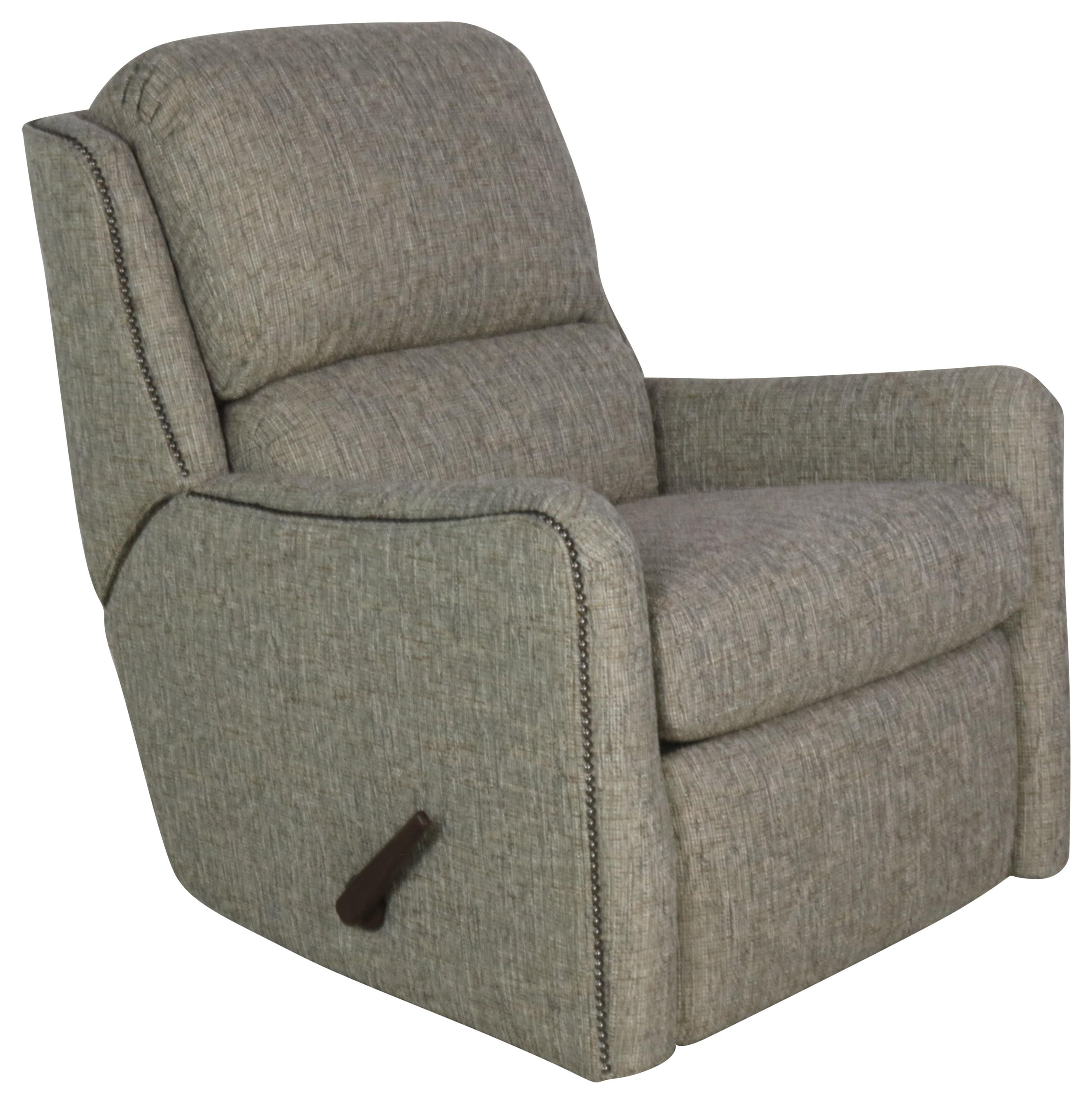 746 Swivel Glider Recliner by Smith Brothers at Sprintz Furniture