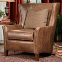 Peter Lorentz 825 Wing Back Chair - Item Number: 825-30-5415