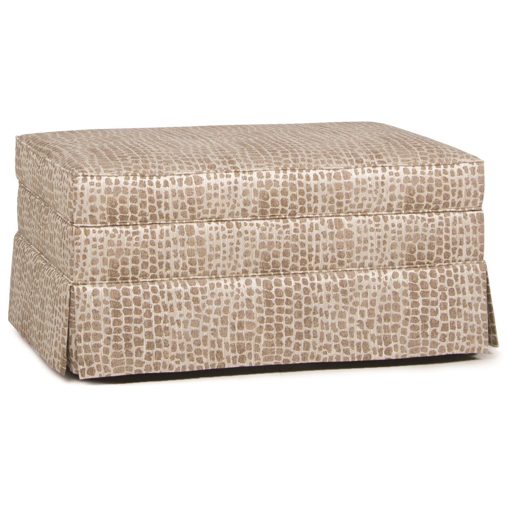 900 Storage Ottoman by Smith Brothers at Gill Brothers Furniture