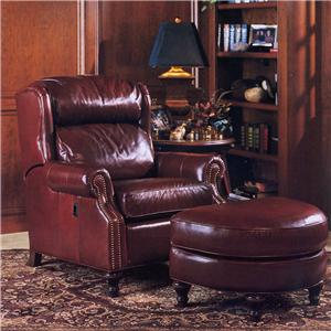 Smith Brothers 932 Tilt-Chair and Ottoman