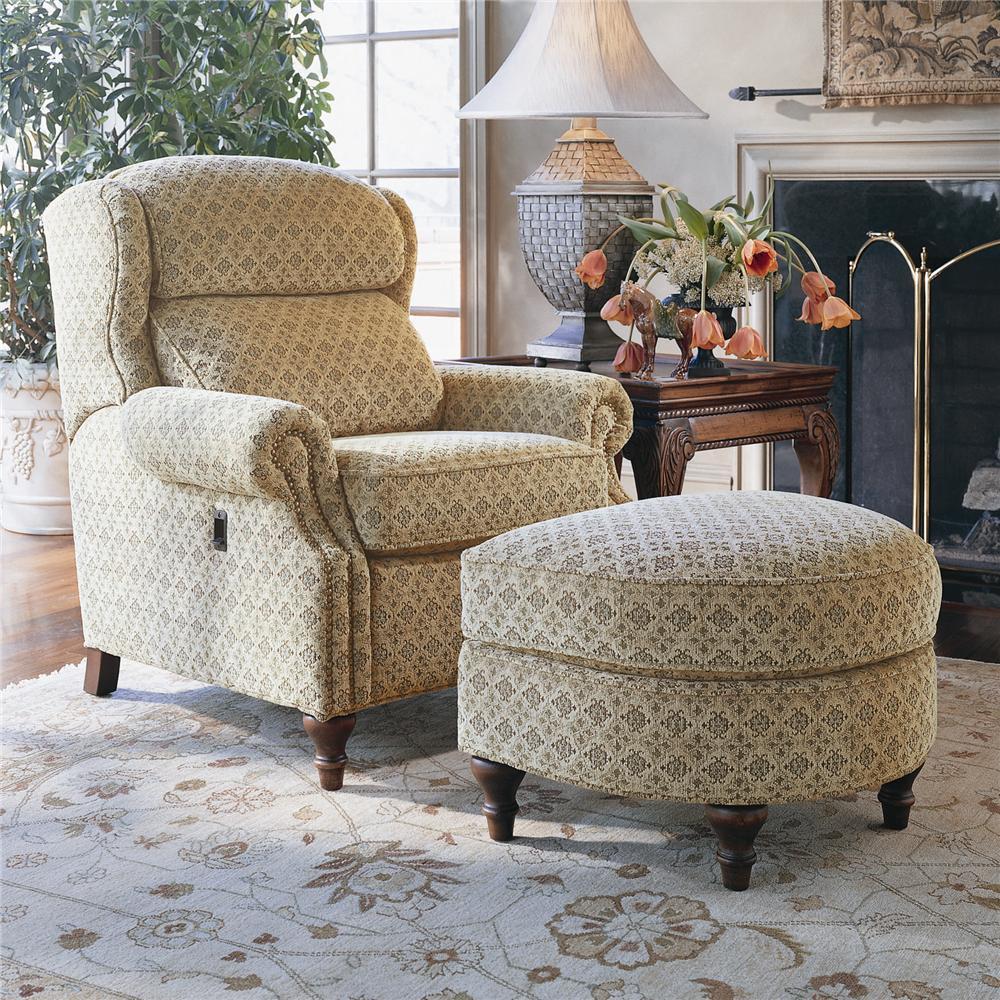 Tilt-Chair and Ottoman