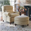 Smith Brothers 932 Tilt-Chair and Ottoman - Item Number: 932-01-02