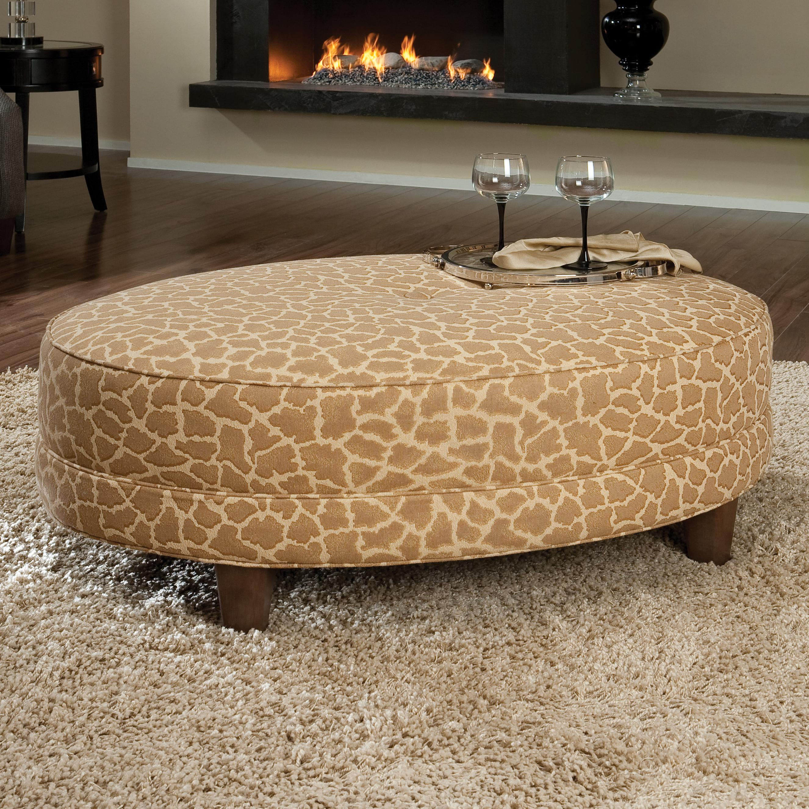 940 Cocktail Ottoman by Smith Brothers at Gill Brothers Furniture
