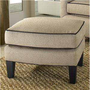 Smith Brothers 942 Contemporary Ottoman