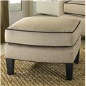 Smith Brothers 942 Contemporary Ottoman - Item Number: 942 O
