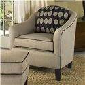 Smith Brothers 942 Contemporary Barrel Chair - Item Number: 942