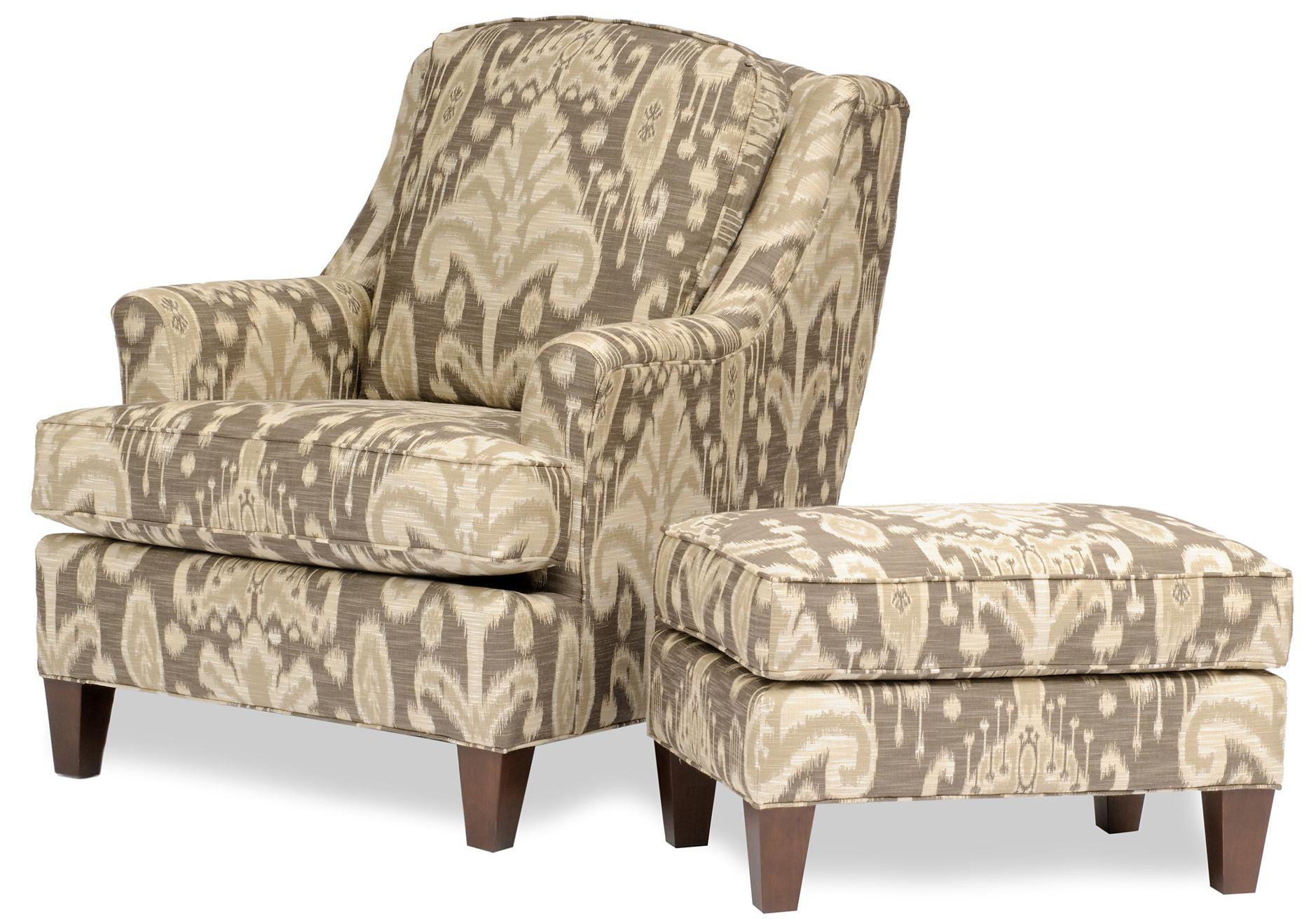 Smith Brothers 944 Chair and Ottoman - Item Number: 944-30+40